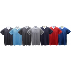 Young Adult (TEEN) Short-Sleeve V-Neck Jersey T-Shirt (Athletic Slim Fit)