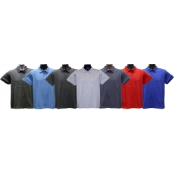 Young  Adult (TEEN) Short-Sleeve Improved-Collar Jersey Polo-Shirt (Athletic Slim Fit)