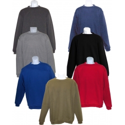 ADULT PULLOVER CREWNECK FLEECE SWEATSHIRT