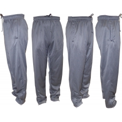 Adults Performance Elastic Sweatpants with Sides Zippers Pockets & Zippers Legs Ends