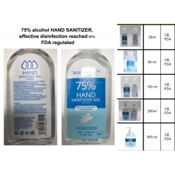 75% alcohol HAND SANITIZER, effective disinfection reached 99% FDA regulated