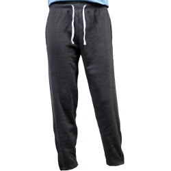 Adults Active Sweatpants with Sides Zippers Pockets & Legs Ends