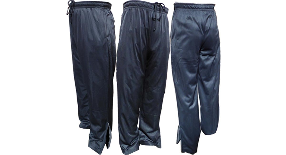 Adult Performance Sweatpant with Sides Zippers Pockets & Zippers Legs Ends